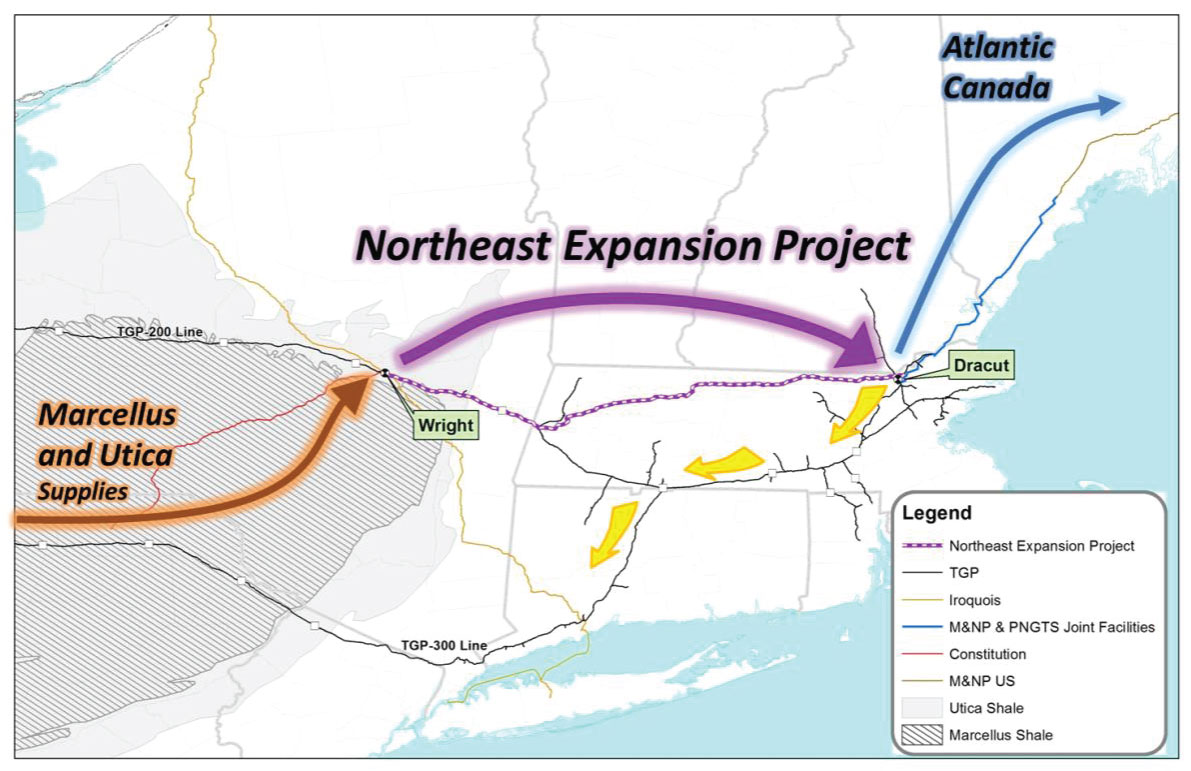 2014 Analysts Conf 02 Naturalgas Open Season Kinder Morgan Tennessee Gas Pipeline