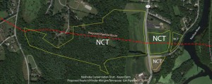 Proposed Pipeline Route - NCT Property