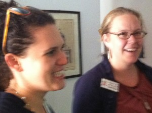 Michelle Weiser and Claire Miller of Toxics Action Center