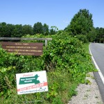 River Rd/Keyes Farm Conservation  - Site of the proposed pipeline crossing