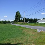 River Rd, where proposed pipeline would cross